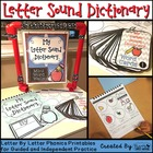 "ABC Phonics Dictionary - ""My Letter Sound Dictionary"""