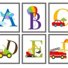 ABC Picture Cards {freebie}