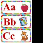 ABC Picture Word Wall Header Cards