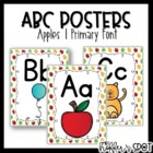 ABC Posters with Pictures {Apples}