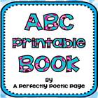 ABC Printable Book
