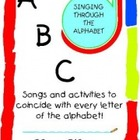 ABC Singing Through the Alphabet with CD