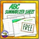 ABC Summary Sheet or Summarizer