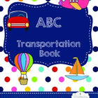 ABC Transportation Book