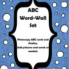 ABC Word-Wall Cards