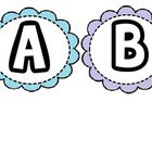 ABC letters and word wall signs