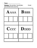 ABC word work