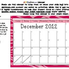 ABCmouse.com Calendar for tracking