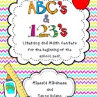 ABC&#039;s &amp; 1,2,3&#039;s -&gt; Literacy and Math Centers for Back to School