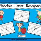 ABC's / Alphabet / Letters / Recognizing letters