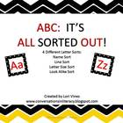 ABCs:  It&#039;s All Sorted Out