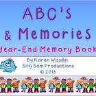 ABC's & Memories: Year-End Memory Book
