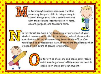 ABCs of Back to School Stick Kids for ActivBoard