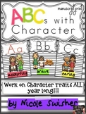 ABCs with Character (Ball/Stick Print): Character Traits &