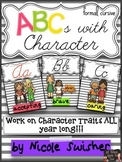 ABCs with Character (Formal Cursive)- Character Traits + R