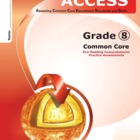 ACCESS Gr 8 ELA Common Core practice assessment/classroom