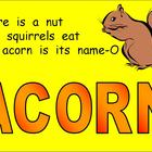 ACORN Powerpoint- Fall Shared Reading Song