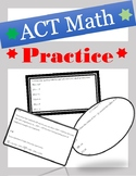 ACT Math Test