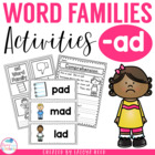 AD  Word Family Pack