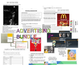 ADVERTISING BUNDLE LESSON PLANS ACTIVITIES