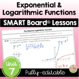 ALG 2 UNIT: Exponential and Logarithmic Functions SMART BO