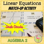 ALGEBRA: A Linear Match and Sort Activity