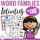 ALL Word Family Packet
