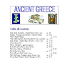 ANCIENT GREECE:  Challenging Middle School Resources