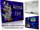 ANIMAL CHARACTERISTICS: BEHAVIORS & RESPONSES POWERPOINT