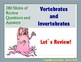 AP Biology Review Powerpoint: Vertebrates and Invertebrates