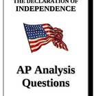 AP - Declaration of Independence analysis