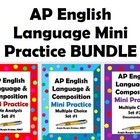 AP English Language Mini Practice BUNDLE