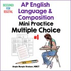 AP English Language Multiple Choice Mini Practice Set #1