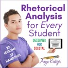 AP English Language Style Analysis/Rhetorical Analysis Unit