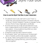 AP English Style Analysis Tool Box