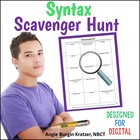 AP English Syntax Scavenger Hunt