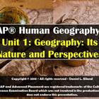 AP Human Geography Unit 1 Powerpoint