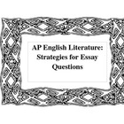 AP Strategies - A Writing Resource