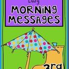 APRIL - 3rd Grade - Easy Morning Messages