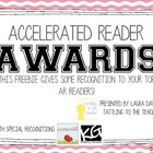 AR Awards Freebie