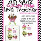 AR Quiz Line Tracker: Cupcake Theme