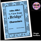 ARTHUR MILLER'S A VIEW FROM A BRIDGE - CHARACTERS SUMMARY HANDOUT