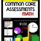 ASSESSMENT 1st Grade - Common Core Math Assessments for the Year