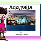 AUSTRALIA POWER POINT AND ACTIVITIES FOR GRADES 3 - 4
