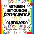 AZ English Language Proficiency {ELP} Standards Individual