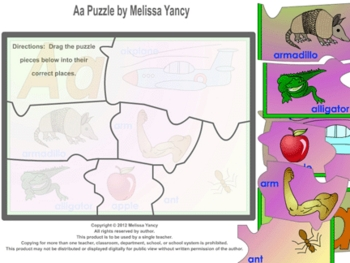 Aa Puzzle by Melissa Yancy for pc