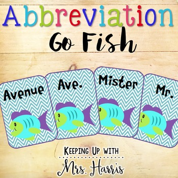 Abbreviation Go Fish