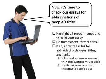 Abbreviations and Acronyms