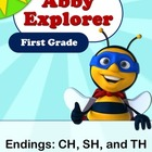 Abby Explorer Phonics - First Grade: Blend with Letter CH,