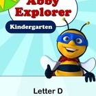 Abby Explorer Phonics - Kindergarten: Letter D Series